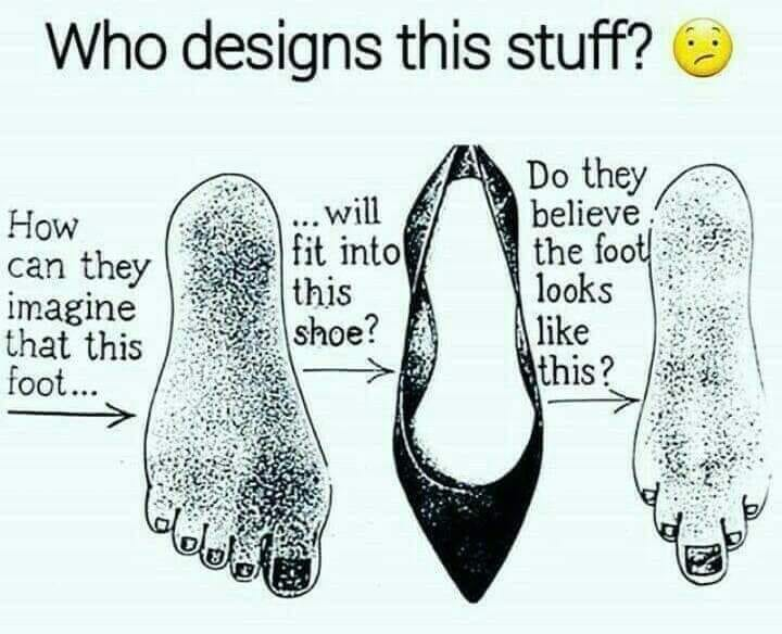 Shoe Fit Foot
