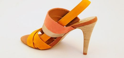 Yellow Shoe High Heels Corner From Women's Shoes