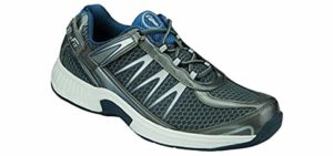 Orthofeet Men's Sprint - Hip Pain Shoe