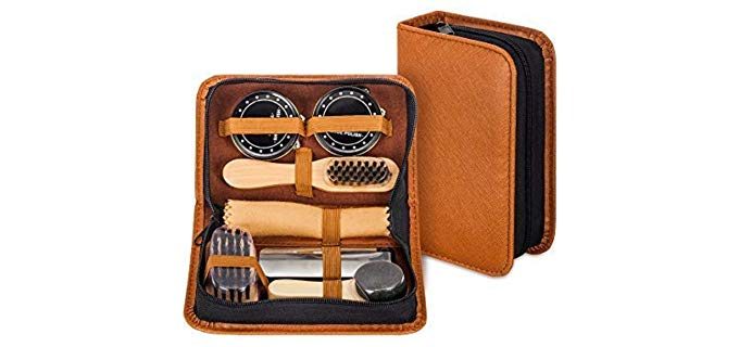 Make it Funwan Unisex Leather Kit - Shoe Shine Kit
